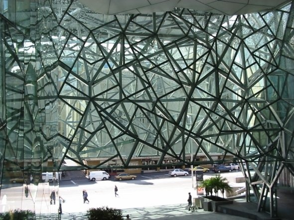 Federation Square. Source: Design Milk