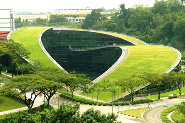 School of Art, Design and Media at Nanyang Technological University in Singapore by CPG Consultants