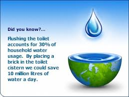 Did you know - Saving water